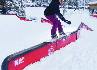 Sierra Jewett, Women's Opne Snow 1st place, 50-50. Photo: Chris Kiernan