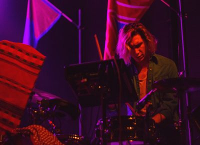 Max Harwood of Lewis Del Mar is one of the band's central figures and founding members. Photo: Talyn Sherer.