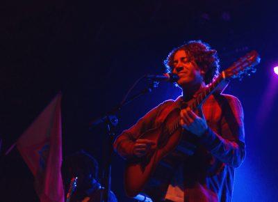 Lewis Del Mar's lead singer/guitarist Danny Miller feels right at home in Salt Lake City. Photo: Talyn Sherer.