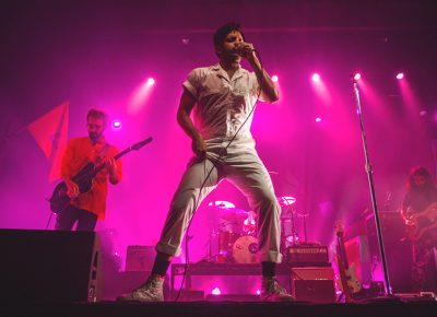 Young the Giant's sold-out show proved to be one of the best and most highly-attended shows that I have seen at The Complex thus far. Photo: Talyn Sherer.