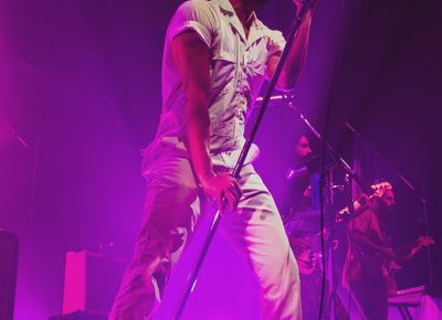 Sameer Gadhia of Young the Giant is a performer in a league of his own. Photo: Talyn Sherer.