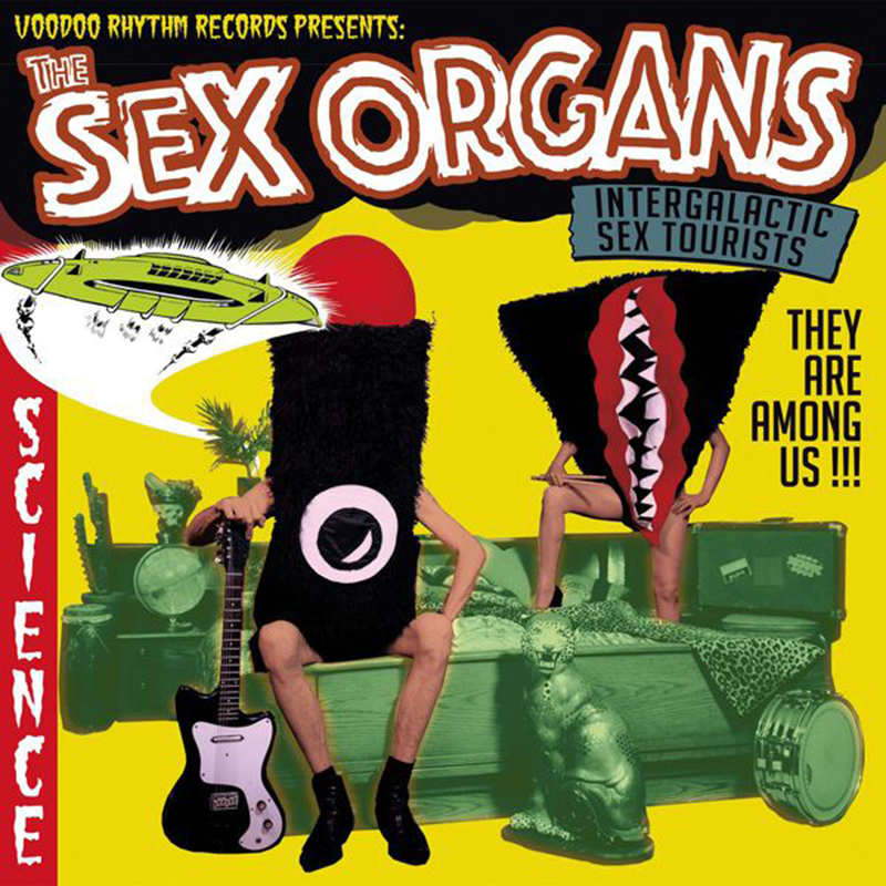 Review: The Sex Organs – Intergalactic Sex Tourists