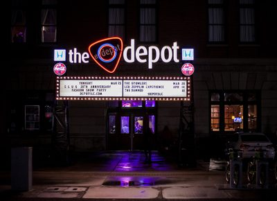 The entrance to The Depot. Photo: CJ Anderson