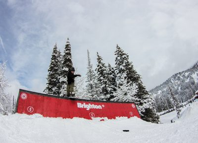 Jeff Hopkins 2nd place Men's Open Snow back lip Photo: Jo Savage // @SavageDangerWolf