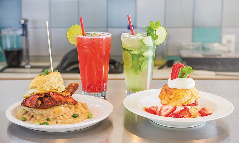 Feast your eyes on Sweet Lake Biscuits & Limeade's claims to fame.