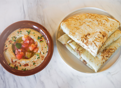 Laziz Kitchen hummus ($6) | Photo: Talyn Sherer