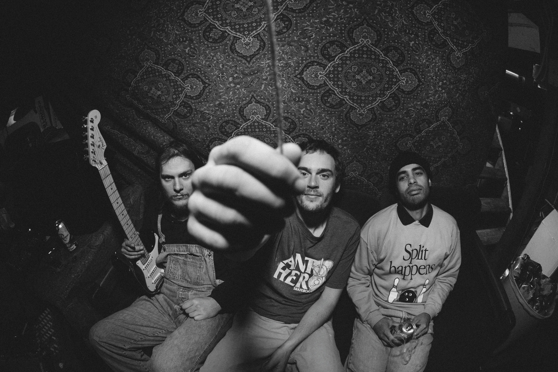 (L–R) Logan Griffith, Andrew Aldridge and Durrell Williams. Photo: Colton Morgan