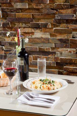 Vodka Capellini. Photo courtesy of Restaurant 1107