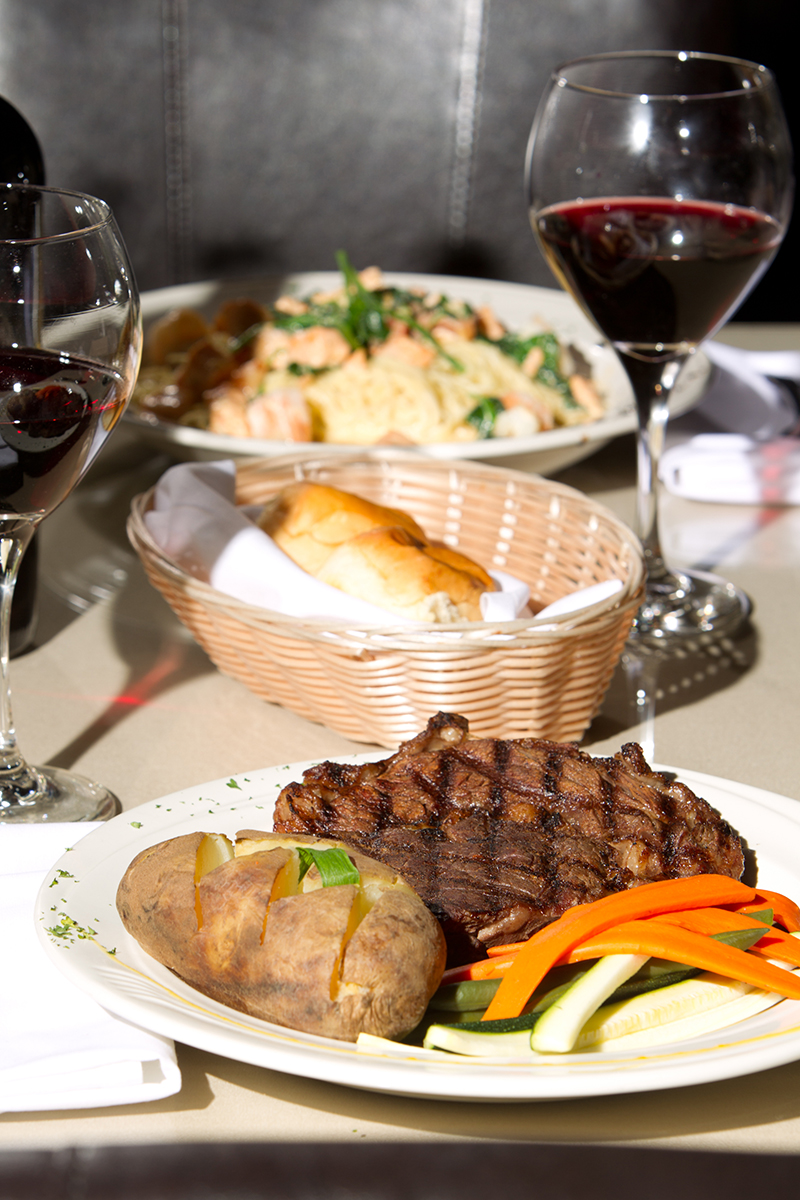 Steak and potatoes. Photo courtesy of Restaurant 1107.