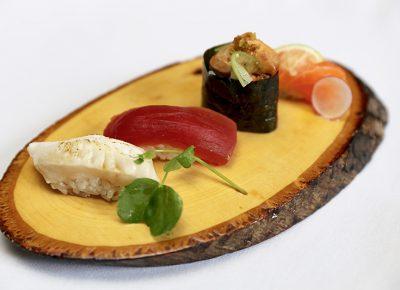 Nigiri platter. Photo courtesy of Tona Sushi.