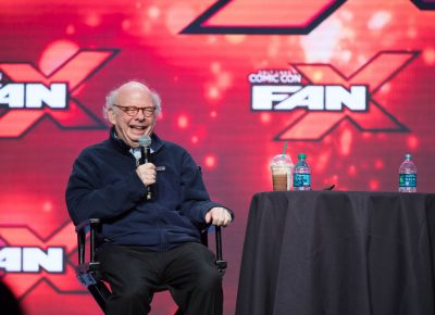 """Special guest Wallace Shawn, famously of The Princess Bride, discussing his method of picking scripts: """"Well, usually, if it doesn't make me ill, I do it!"""" Photo: Lmsorenson.net"""