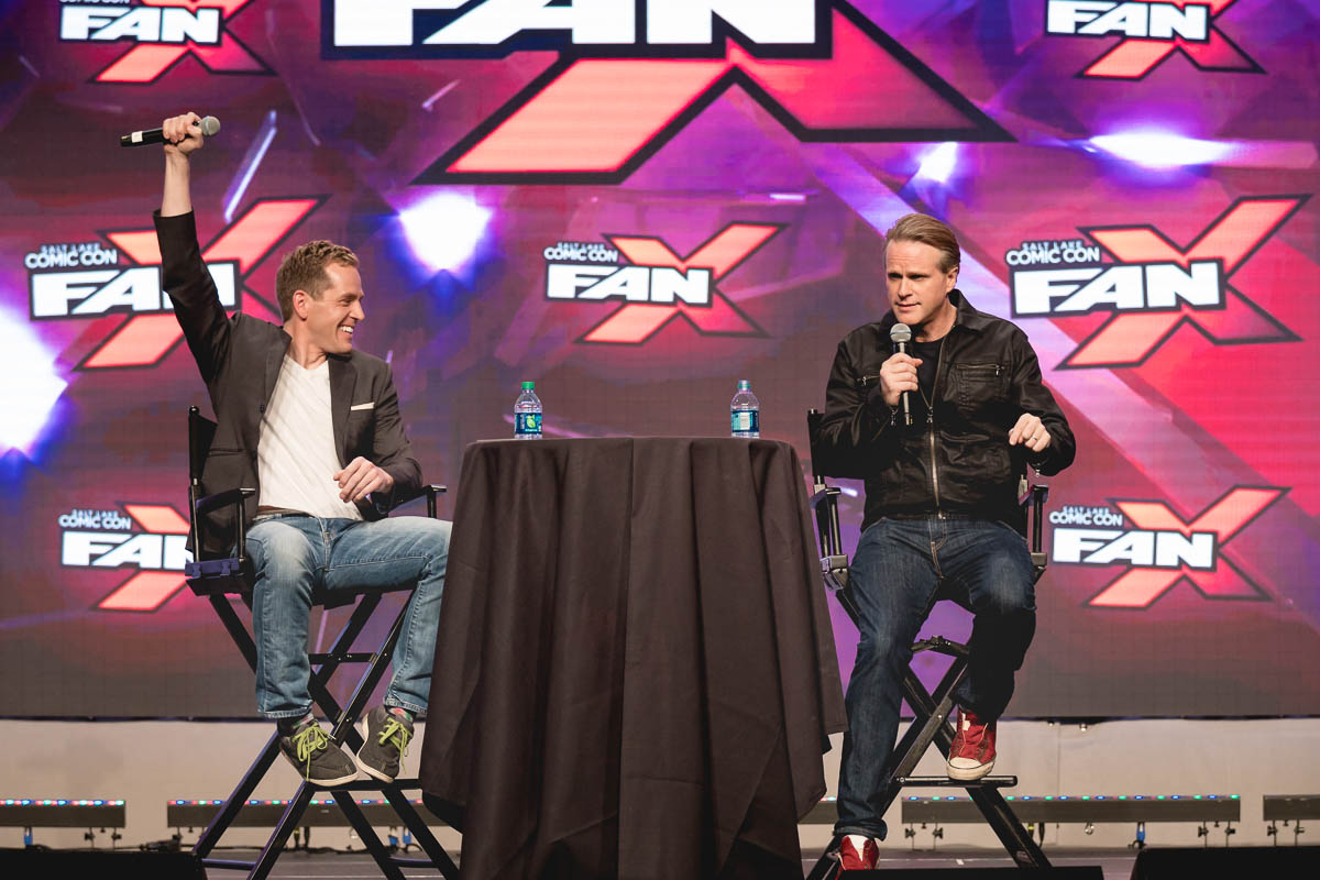 "Cary Elwes thinks that Salt Lake Comic Con is ""... the best Con!"" Photo: Lmsorenson.net"