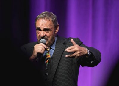 John Rhys-Davies, best known for his role as Gimli in The Lord of the Rings, tells audiences about the numerous talents of the cast. Photo: Lmsorenson.net