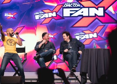 The Walking Dead panel with Michael Cudlitz, Josh McDermitt and Khary Payton created a lot of stories and theories about what characters would have done if they'd met earlier and had not been ... killed. Photo: Lmsorenson.net