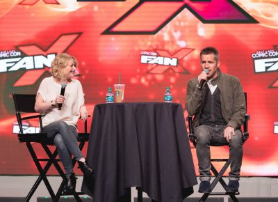 Once Upon a Time actors Emilie de Ravin and Sean Maguire answer questions about their characters and romantic interests in the show. Photo: Lmsorenson.net