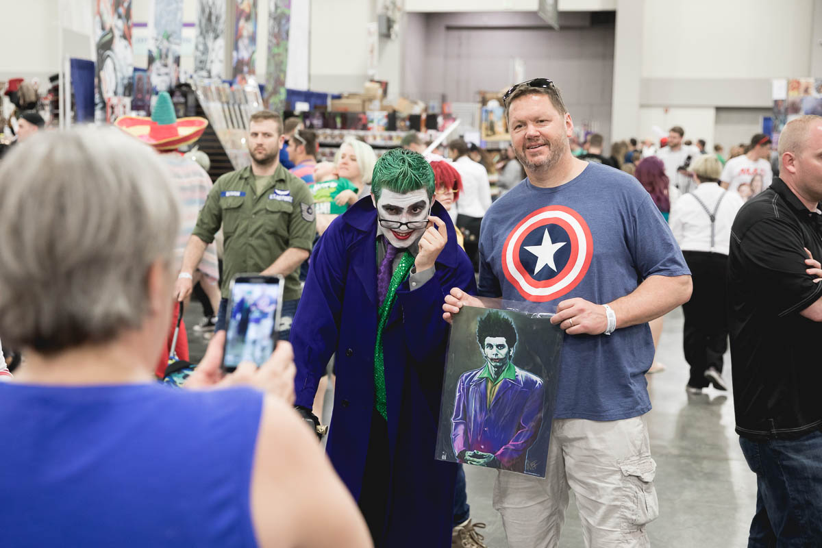 FanX is always a great place for photos with cosplayers. Photo: Lmsorenson.net