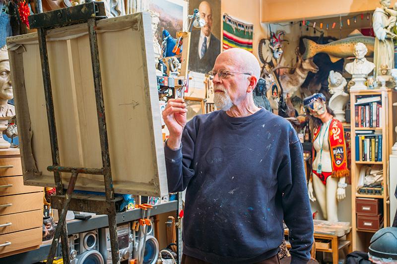 The Eternal Art Major: Sam Wilson