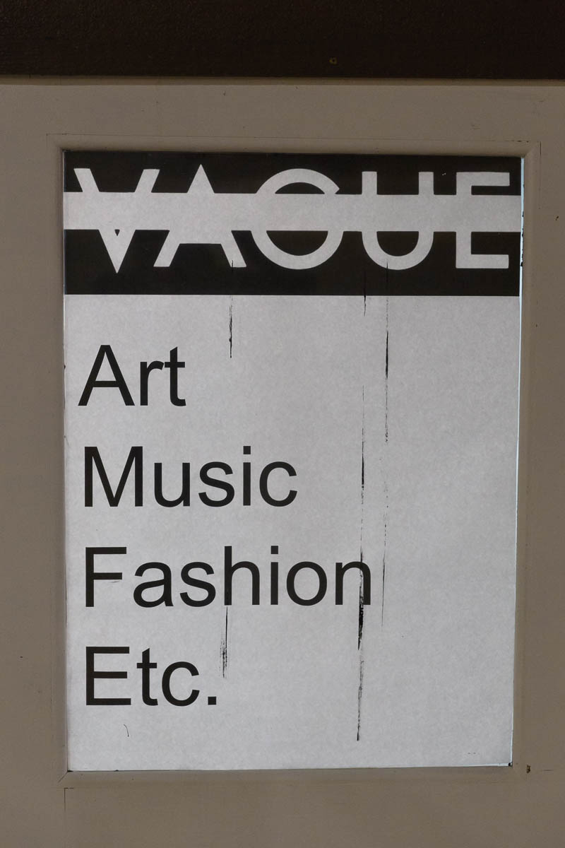 Vague: Art, Music, Fashion, Etc. Photo: Lmsorenson.net