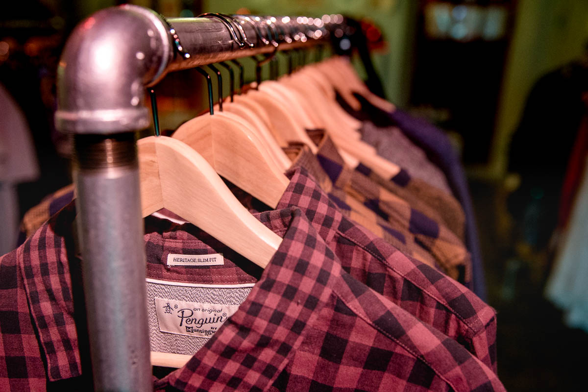 Plaid shirts and other selections at Daley's Clothing. Photo: Lmsorenson.net