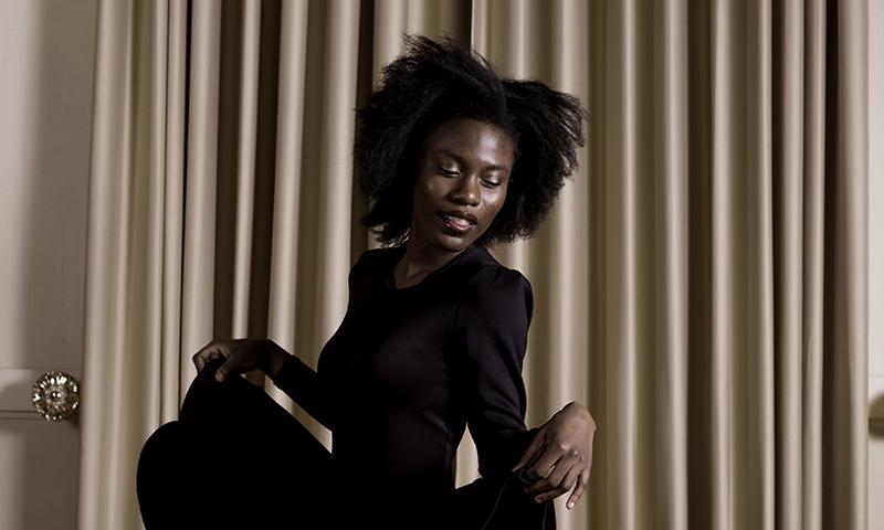 Model: Donat Mouélé @thedonat | Location: Clubhouse SLC @clubhouseslc | HMUA: Amber pearson @hairbya_pear