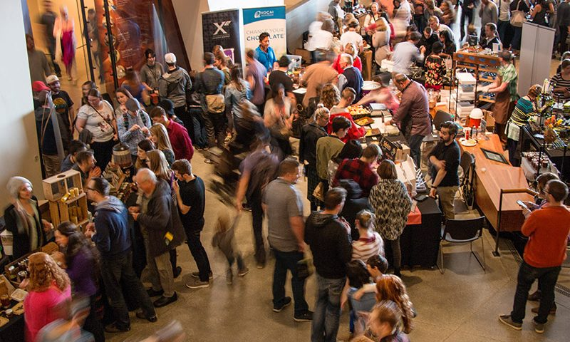 The 2017 Chocolate & Cheese Festival was hosted at the Natural History Museum of Utah on April 8 and 9, 2017. Photo: Mark Johnston