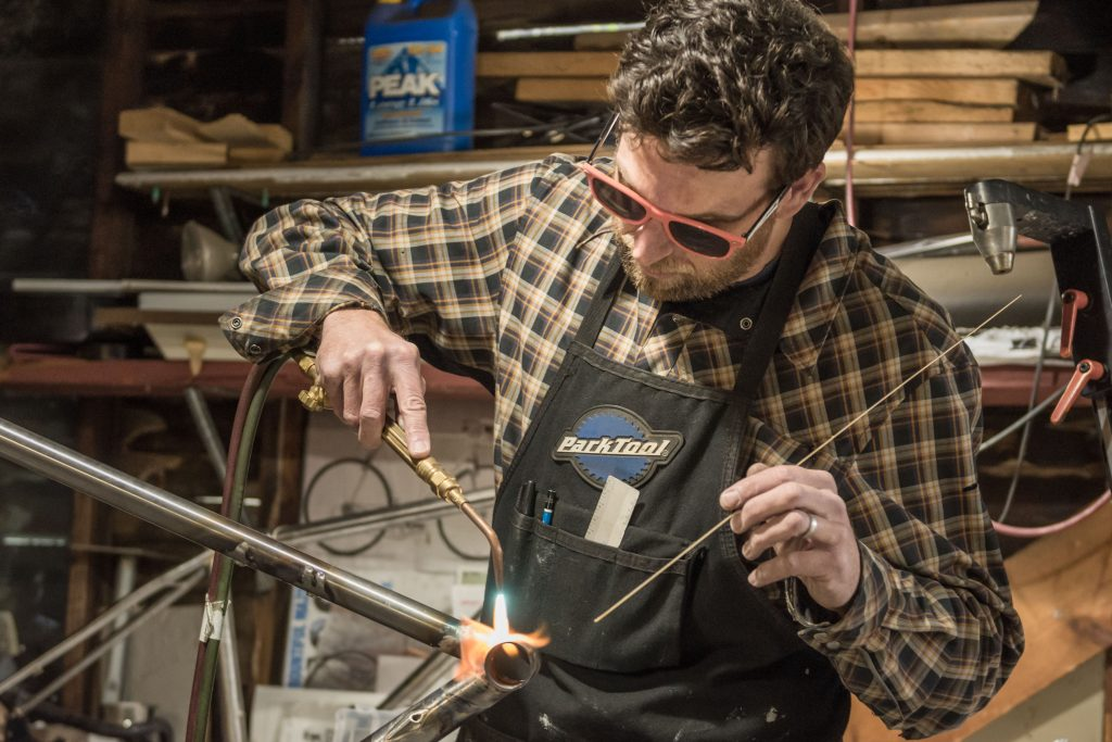 Saltair Cycles – Building Momentum: A Look at Four Local Bicycle Craftsmen