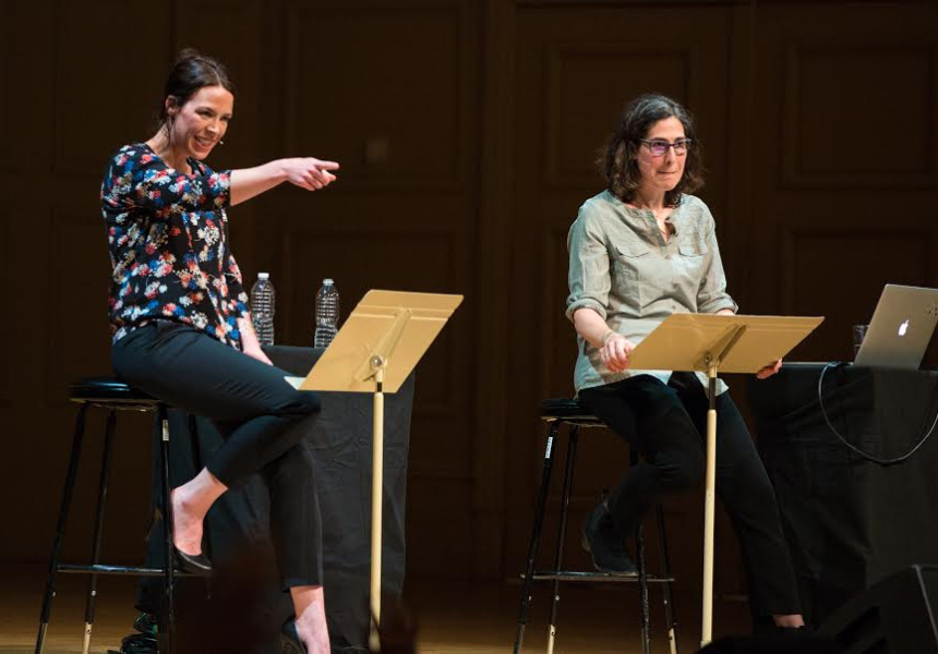 Binge-Worthy Journalism: Serial Sarah Koenig and Julie Snyder @ Eccles Center 04.01