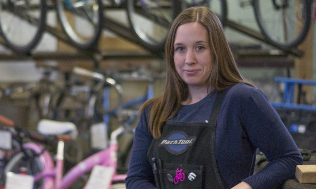 Ogden's Ticket to Ride: Danielle Fry of Ogden Bicycle Collective