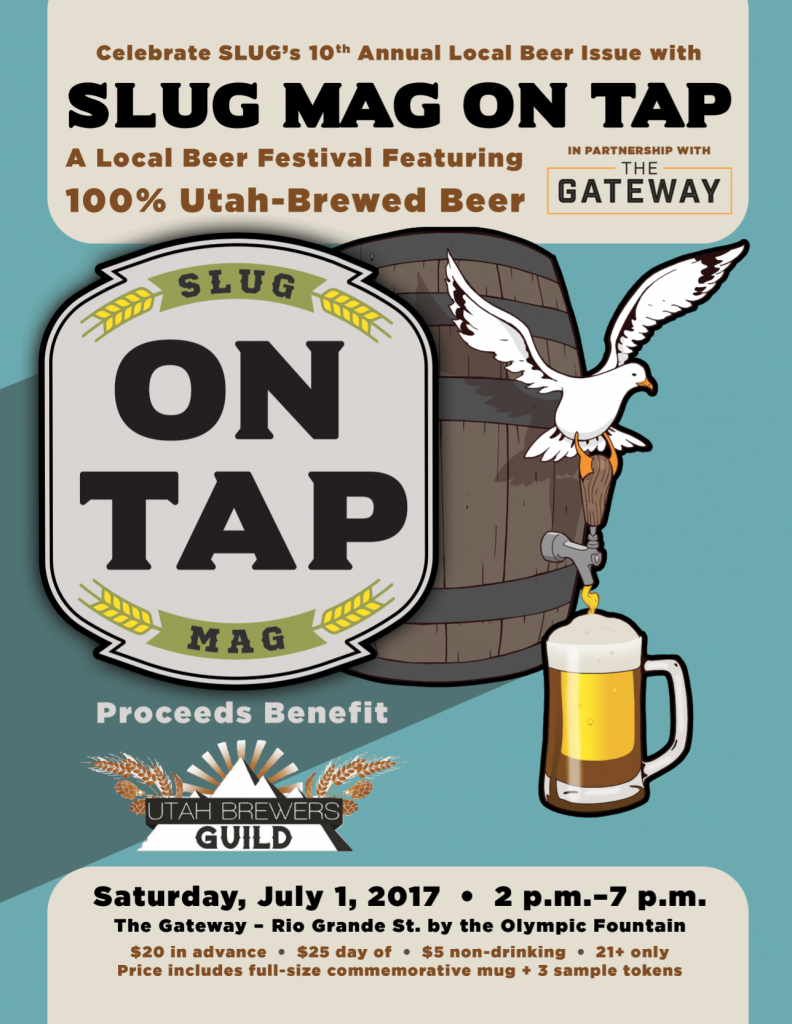 SLUG Mag On Tap: A Local Beer Festival with Proceeds Benefiting the Utah Brewers' Guild