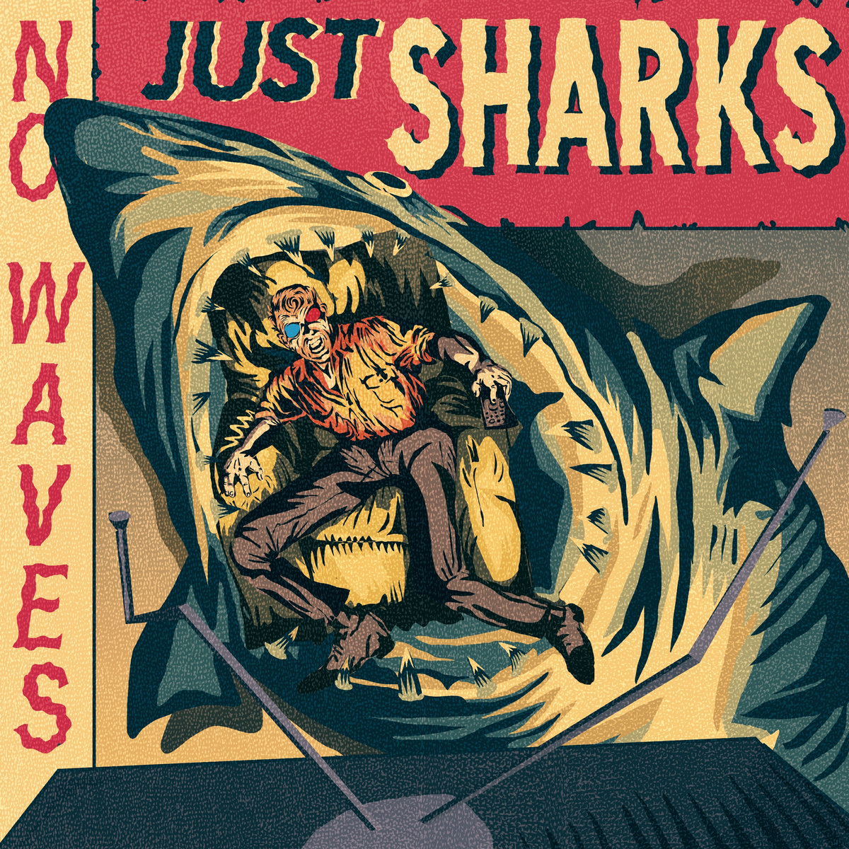 The Mad Doctors | No Waves, Just Sharks