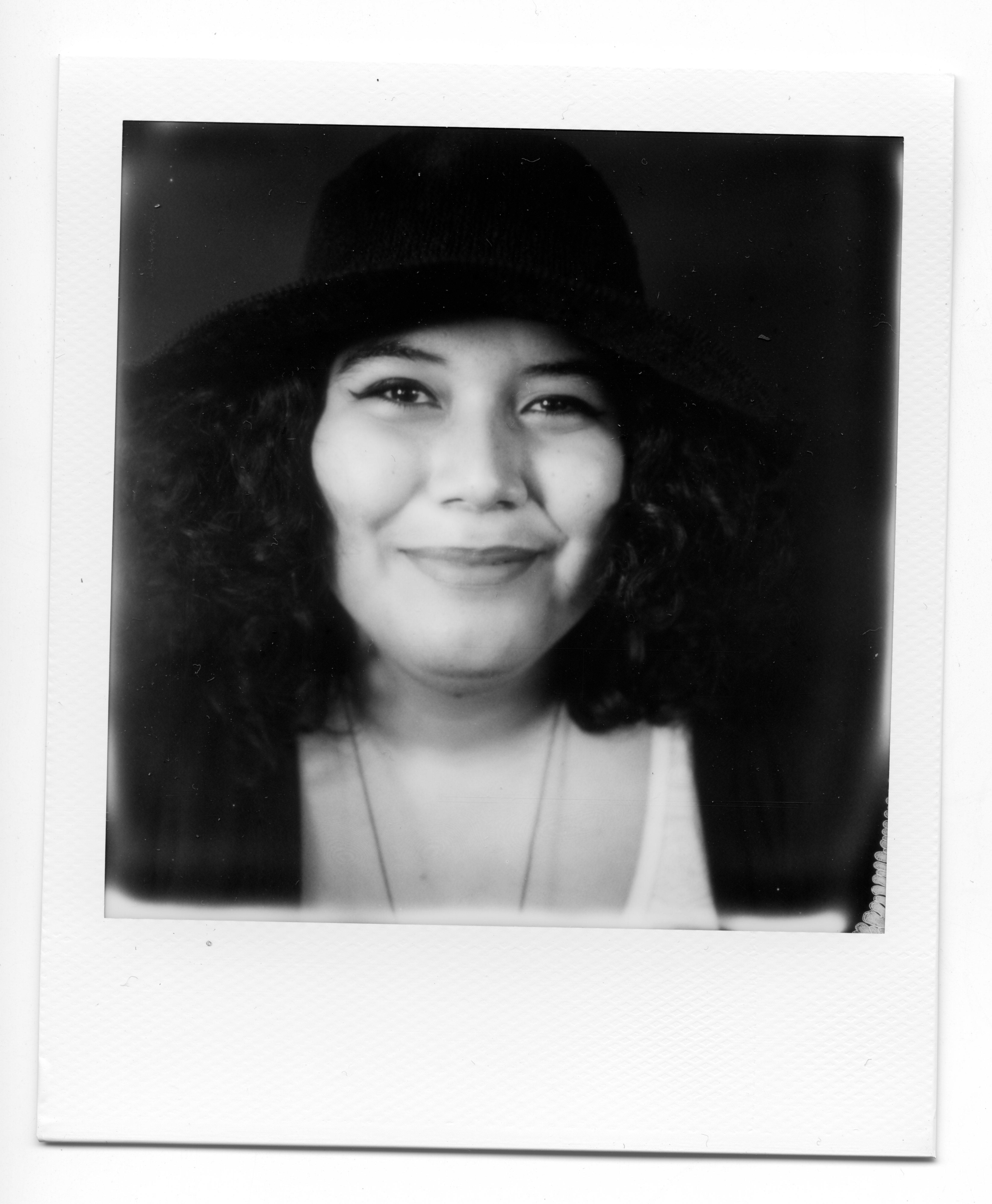 Ella Mendoza, @ellitaart. Photo: Nadia Rea Morales