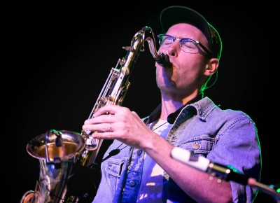 Sax was definitely part of the set, and we are glad it was. Photo: Logan Sorenson / Lmsorenson.net