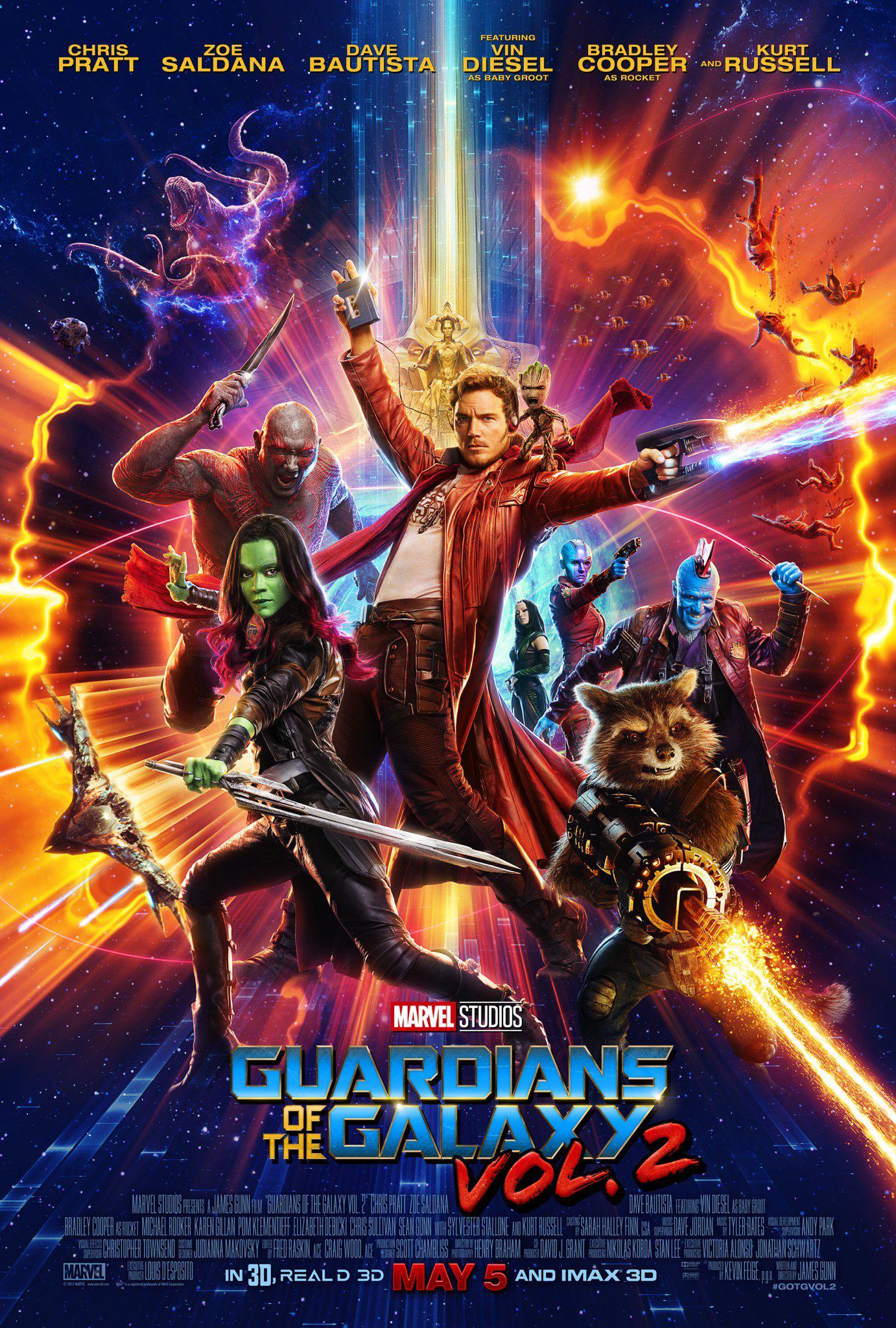 Guardians of the Galaxy Vol. 2 | James Gunn | Marvel Studios/Walt Disney Pictures
