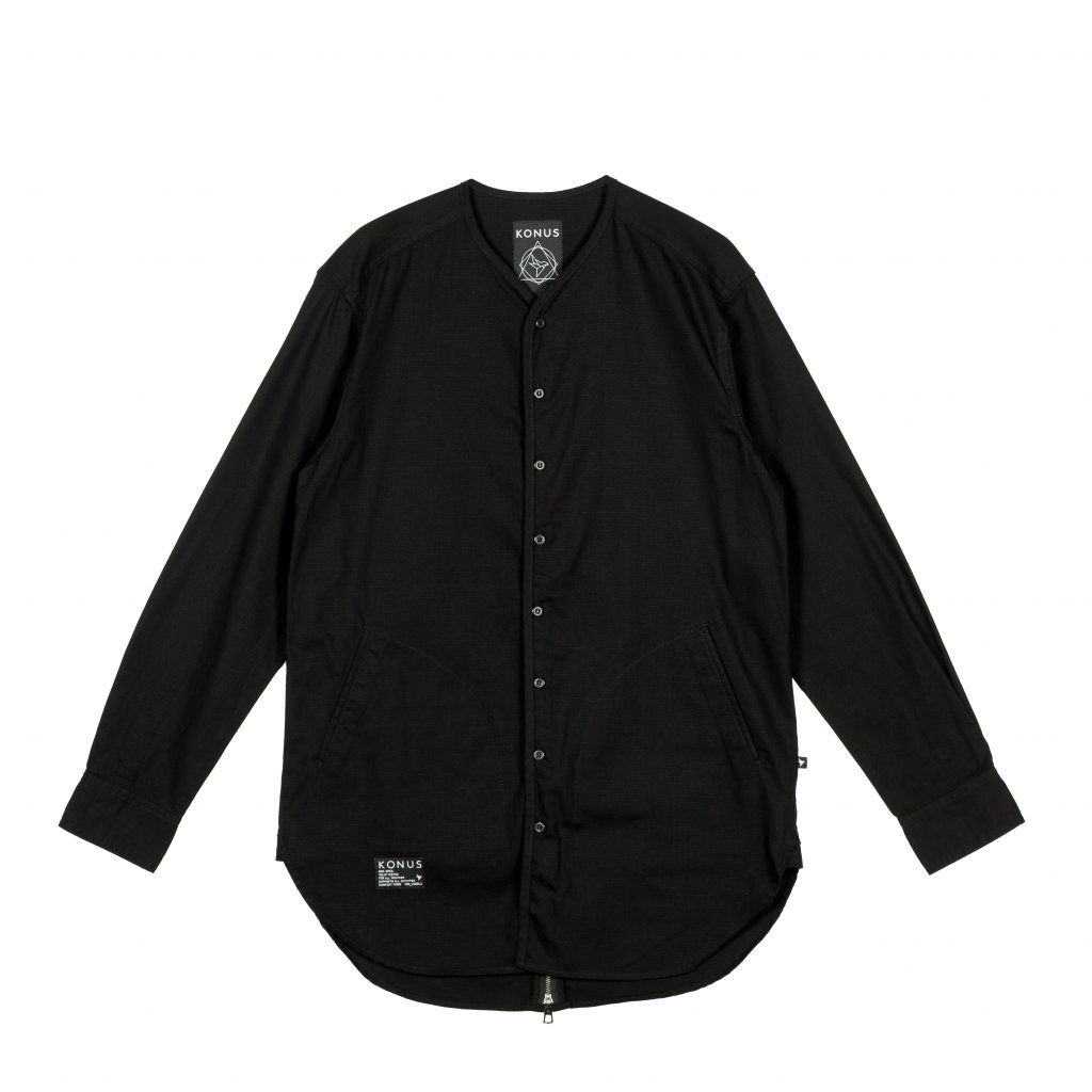 Review: KONUS Redan Button Up (Black) and Stern Button Up (Black)