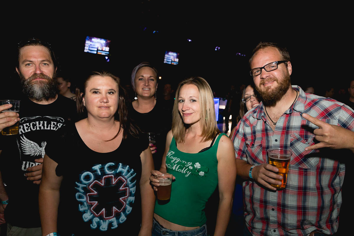 "Jax, Kellie, Janis Joplion, Katie and Dick. Favorite Flogging Molly: ""Within a Mile of Home, Swagger, Whisky on a Sunday!"""