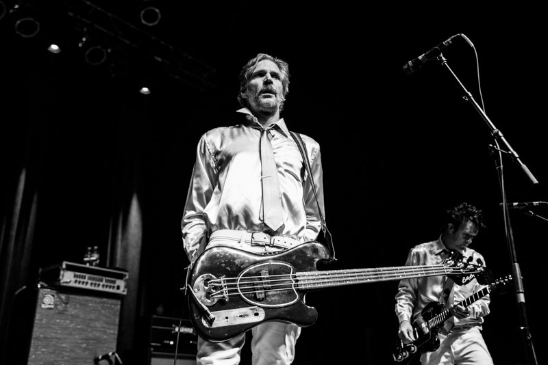 Jay Bentley was on bass for Me First and the Gimme Gimmes. Photo: Gilbert Cisneros