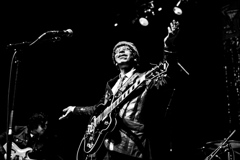 Kid Congo Powers was on guitar and vocals for Kid Congo & The Pink Monkey Birds. Photo: Gilbert Cisneros
