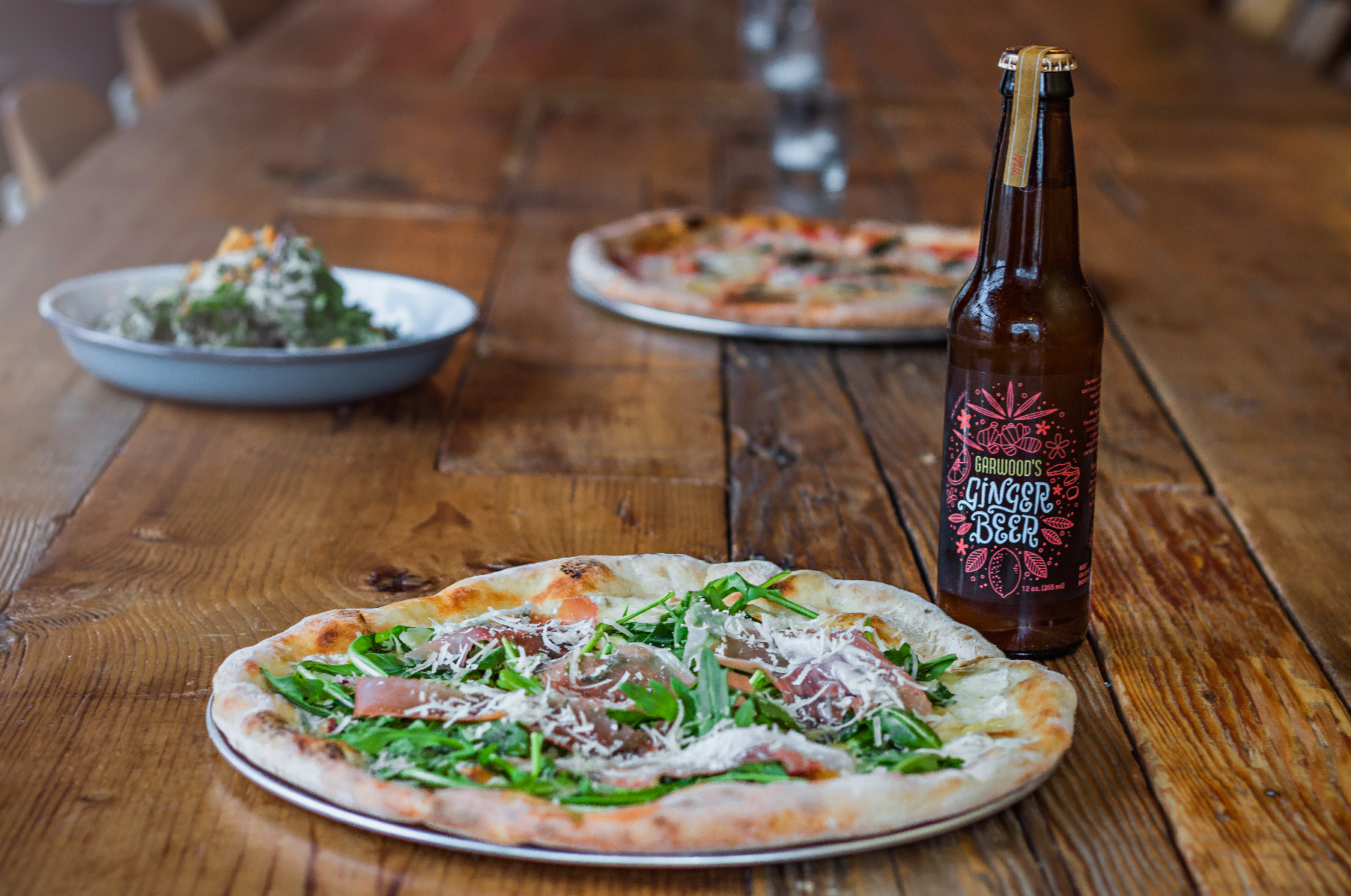 From the traditional simplicity of the Margherita to the complex flavor-melding of the Rocket Man, Pizza Nono focuses on crafting quality pizza from fresh ingredients. Photo by Talyn Sherer