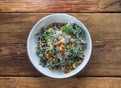 Arugula Salad ($7). Photo by Talyn Sherer