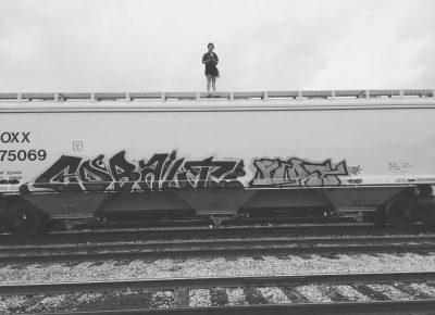 Trainyard. Photo: Amanda Lee Lazorchack, herbalist and road queen extraordinaire.
