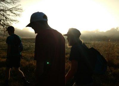 Sunrise hike with family in Florida for Winter holidays. Photo courtesy of Erika Longino.