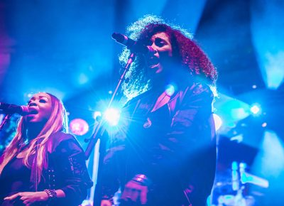Onstage with Ms. Lauryn Hill. Photo: ColtonMarsalaPhotography.com