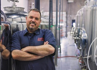 Brian Coleman's IPA output at 2 Row Brewing demonstrates his hoptitude in the form. Photo: Talyn Sherer.