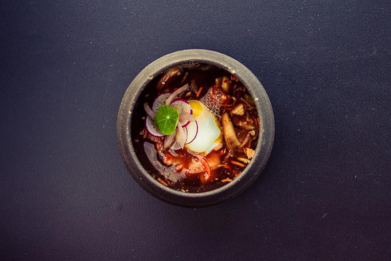 Kimchi Gazpacho ($10). Photos: Talyn Sherer