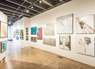 """Playing off the term """"fringe,"""" Gallery Director Eric Waddington explains that the space strives to feature perspectives that may stray from what you would typically expect from a fine arts gallery. Photo: ColtonMarsalaPhotography.com"""