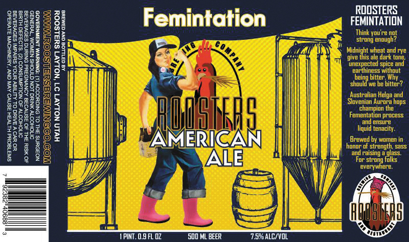Beer of the Month: Femintation American Ale