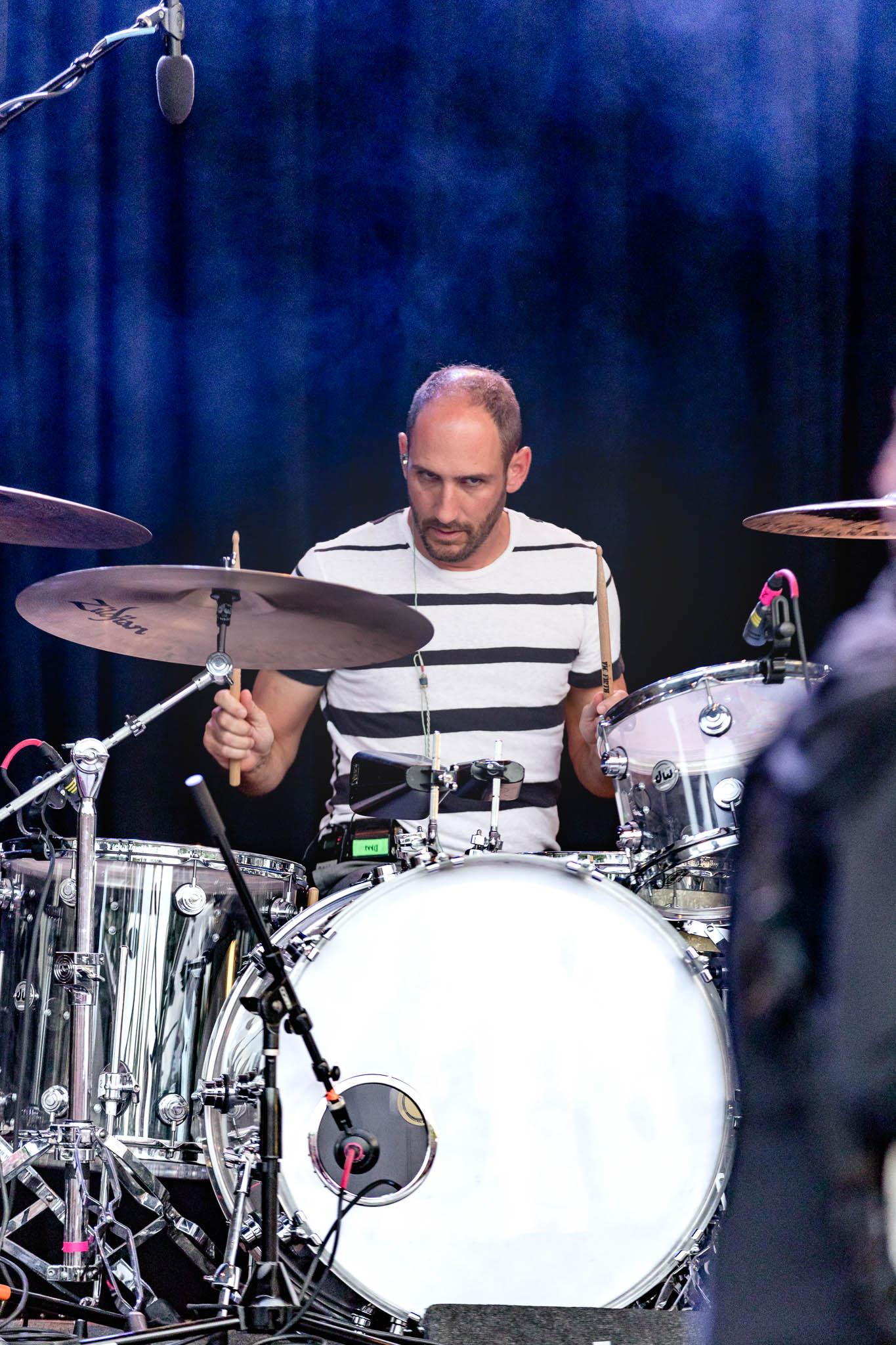Dan Konopka, drummer for OK Go. Photo: Lmsorenson.net