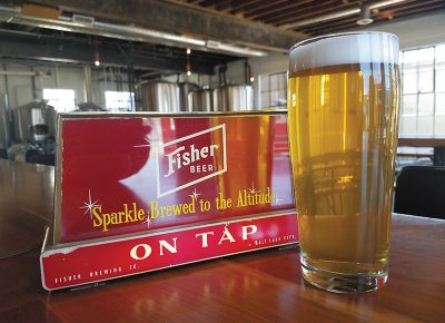 Fisher Classic Lager, A. Fisher Brewing Co.