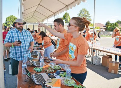 Along with music, food, puppies and games, this August's 8th Annual Utah Beer Festival will bring together close to 70 local and national breweries and cideries. Photo courtesy of City Weekly.