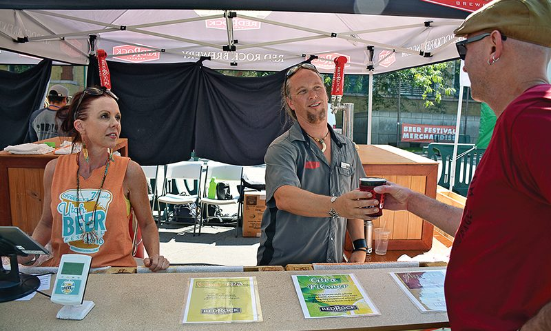 The 8th Annual Utah Beer Festival will take place this year at the Utah State Fairpark on Saturday, Aug. 19. Photo courtesy of City Weekly.